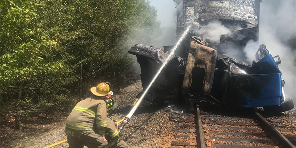 UPDATE: No injuries reported in Amtrak train collision