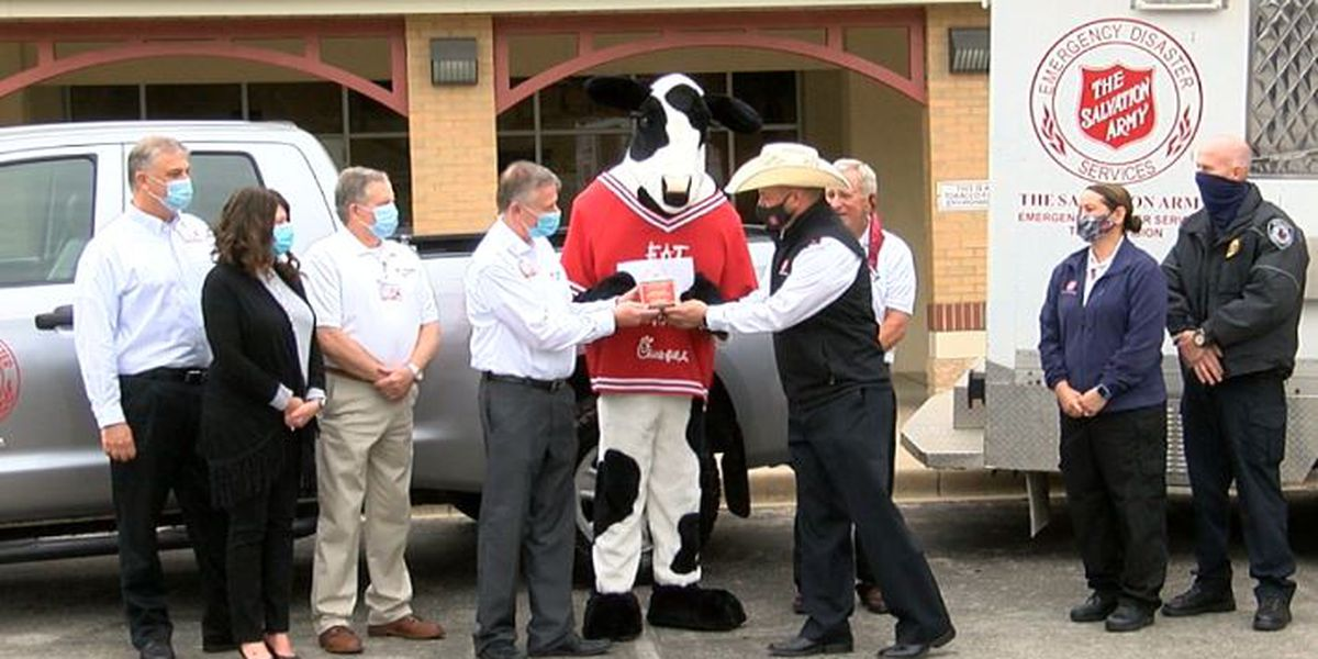 Champion named for first responders 2020 Salvation Army bell ringing challenge