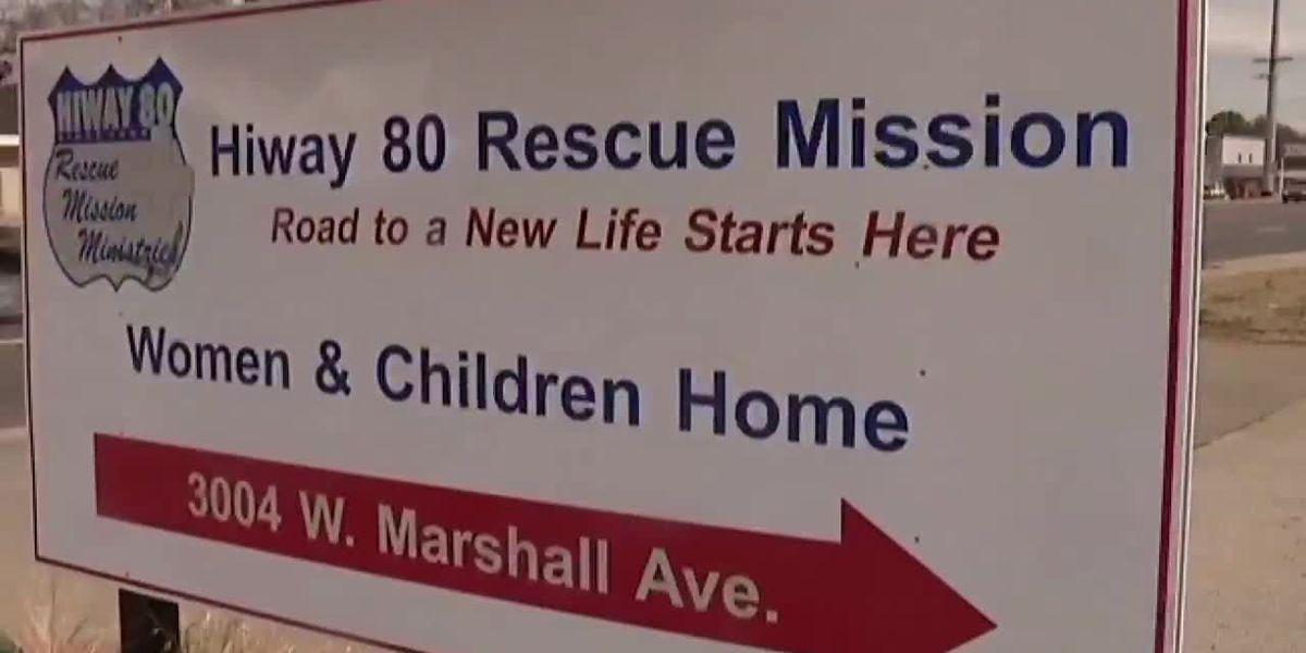 Longview rescue mission providing people without a home to come in from the cold
