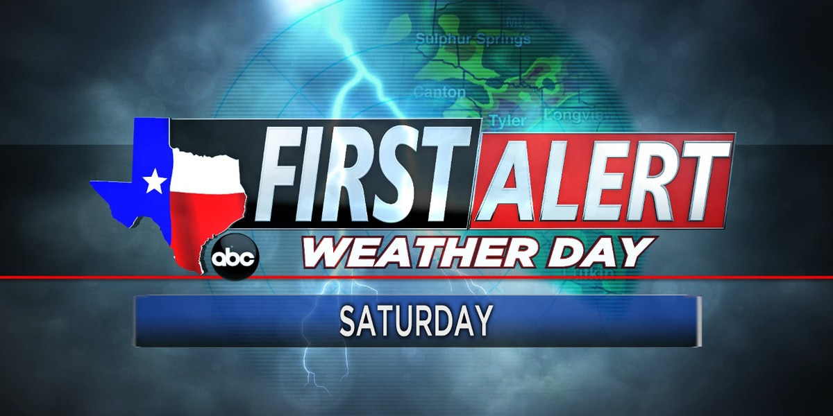 First Alert Weather Day: Timing of severe weather threat shifts to just Saturday