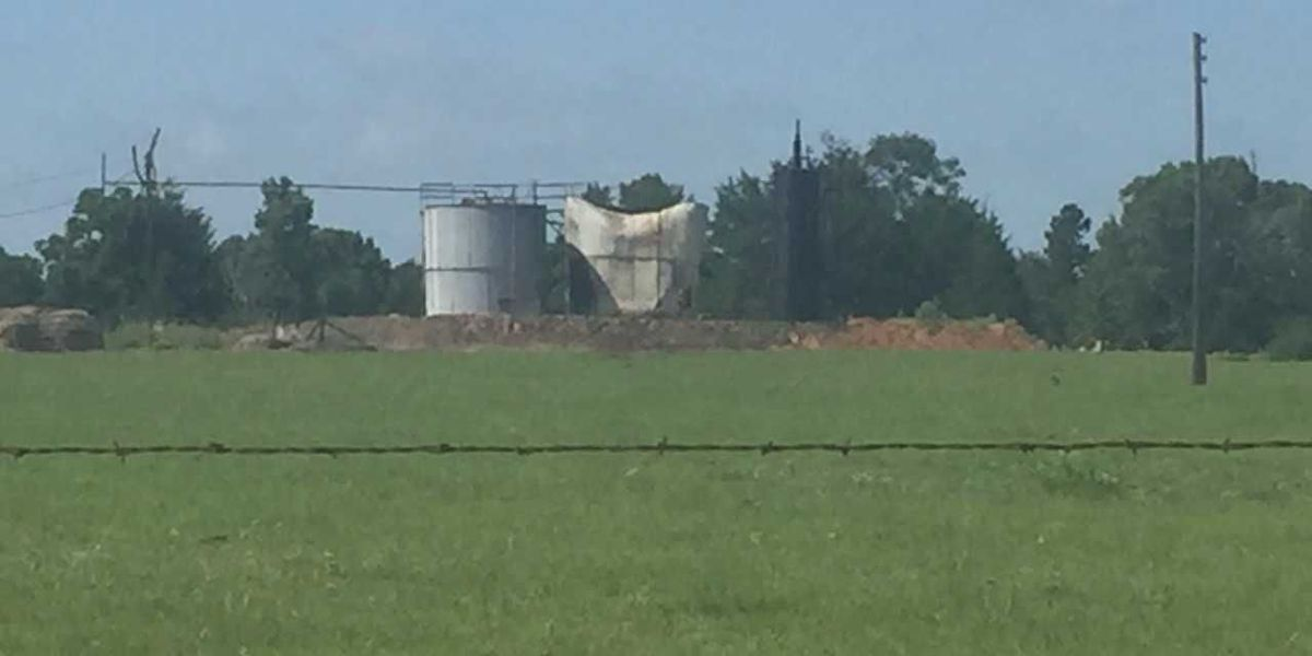 Two victims burned in oil tank explosion in Lindale identified