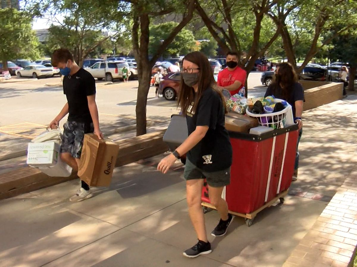 Texas Tech continuing COVID-19 measures as students return for spring