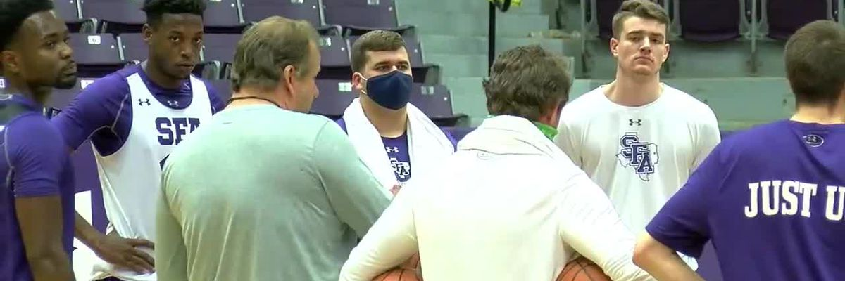 SFA Men's Basketball has first official fall practice
