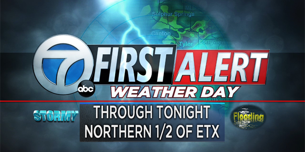 First Alert Weather Day continues Wednesday night, strong to severe storms possible
