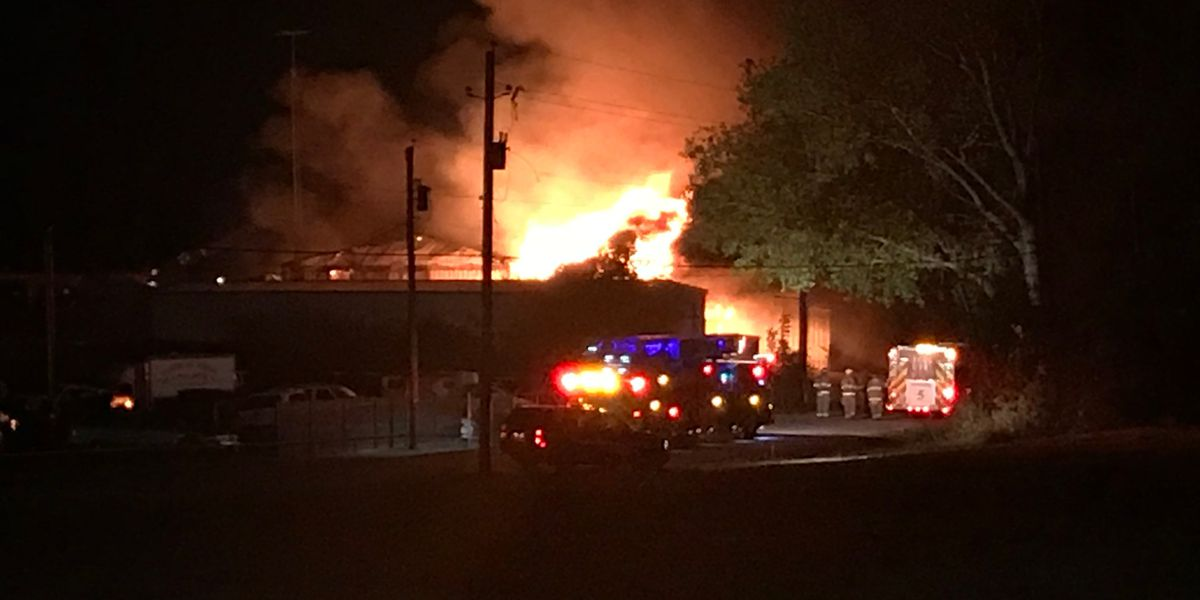 Crews investigating massive structure fire in Tyler