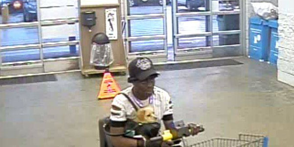 Lindale police searching for possible Walmart thief