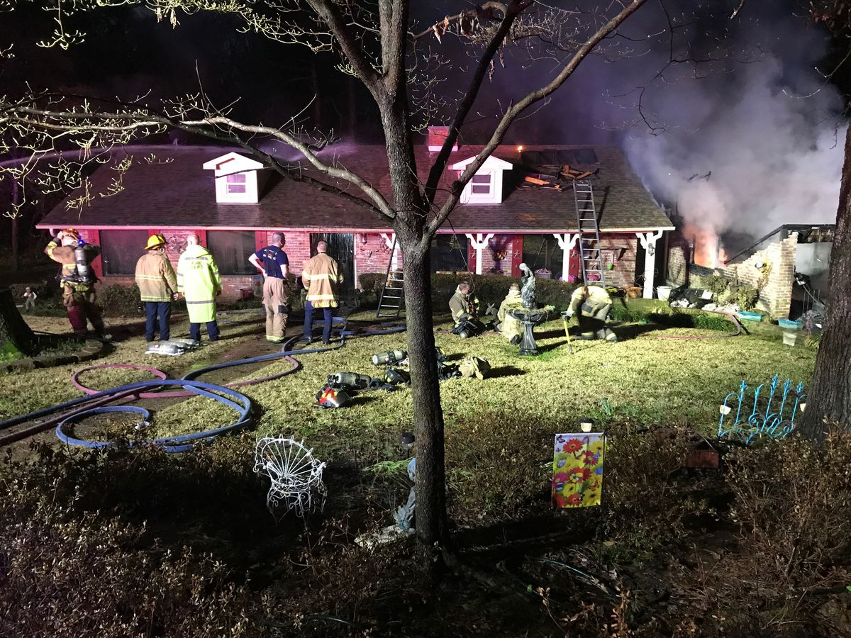 Lightning strike possible cause of Longview house fire