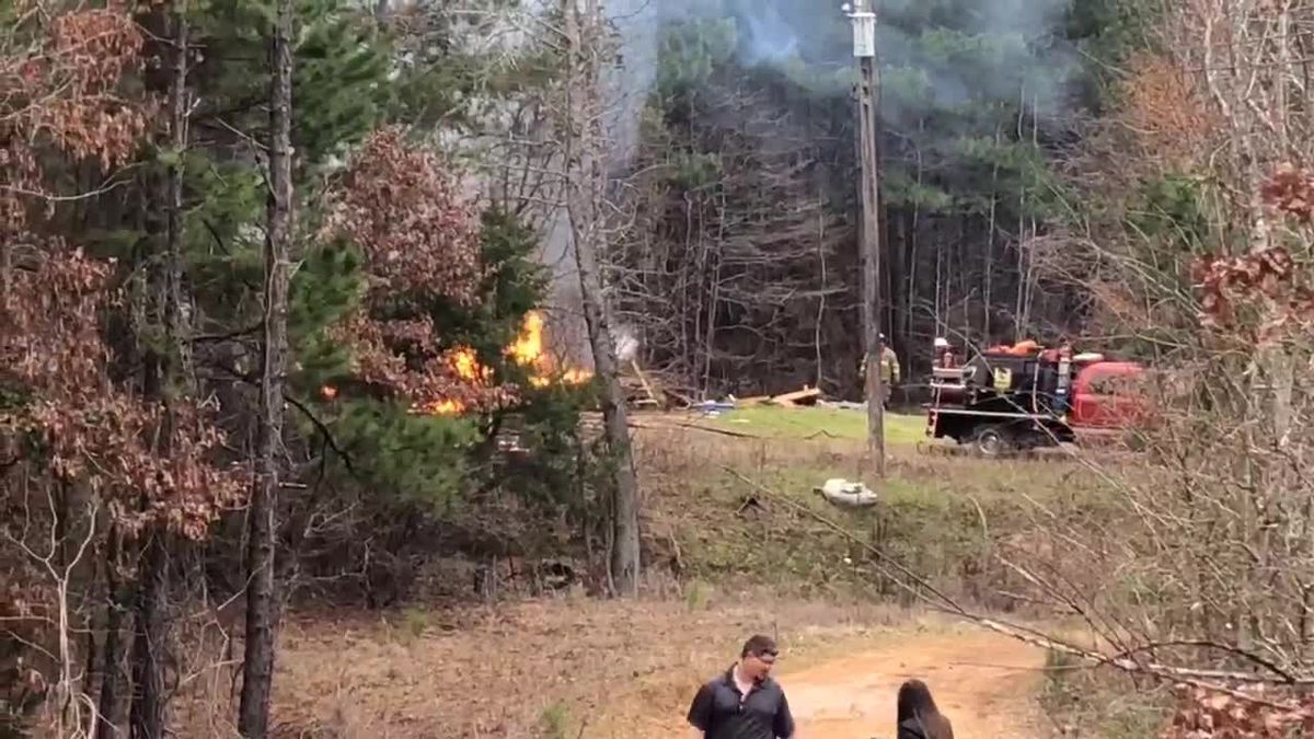 Crews responding to structure fire on County Road 373