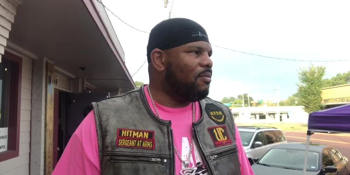 Longview motorcycle club rides for breast cancer awareness