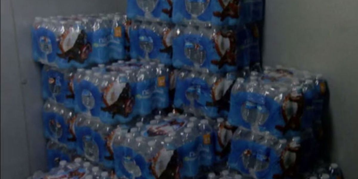 Several East Texas towns set up drinking water distribution sites for residents