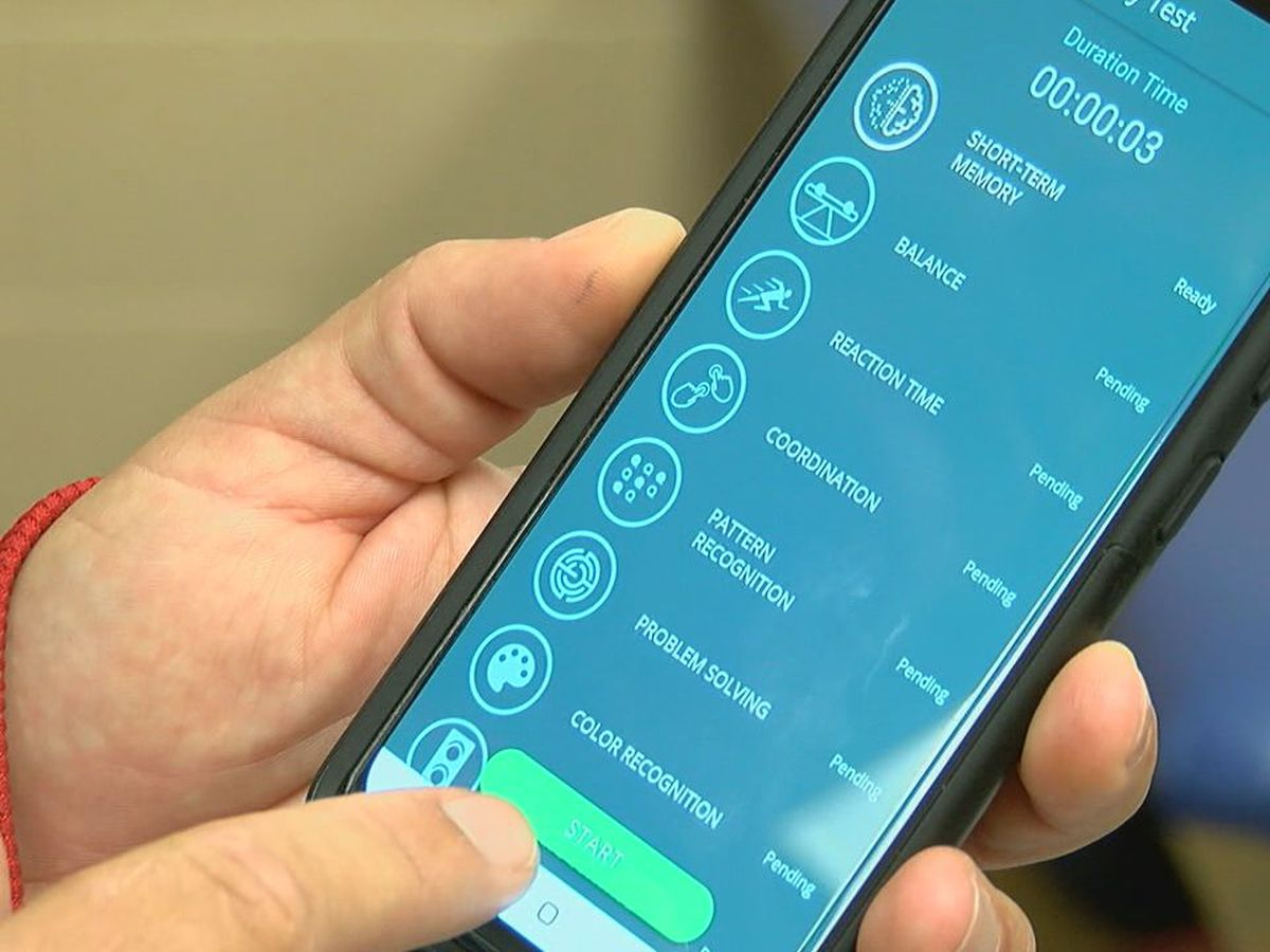 New mobile app monitors athlete's health from sidelines