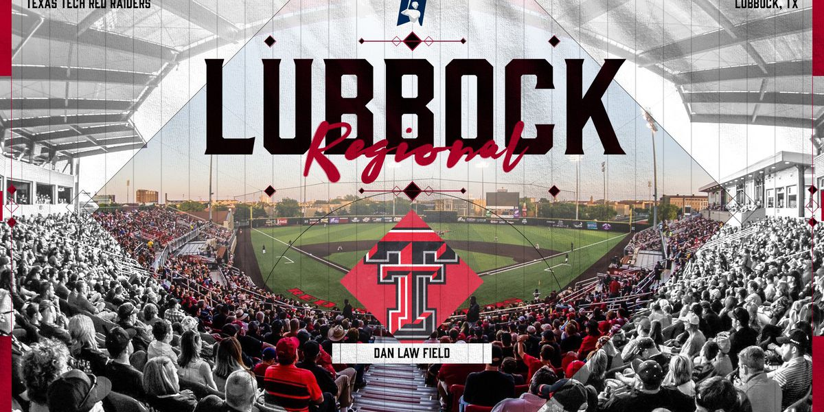 No. 7 Texas Tech Selected as NCAA Regional Host Site