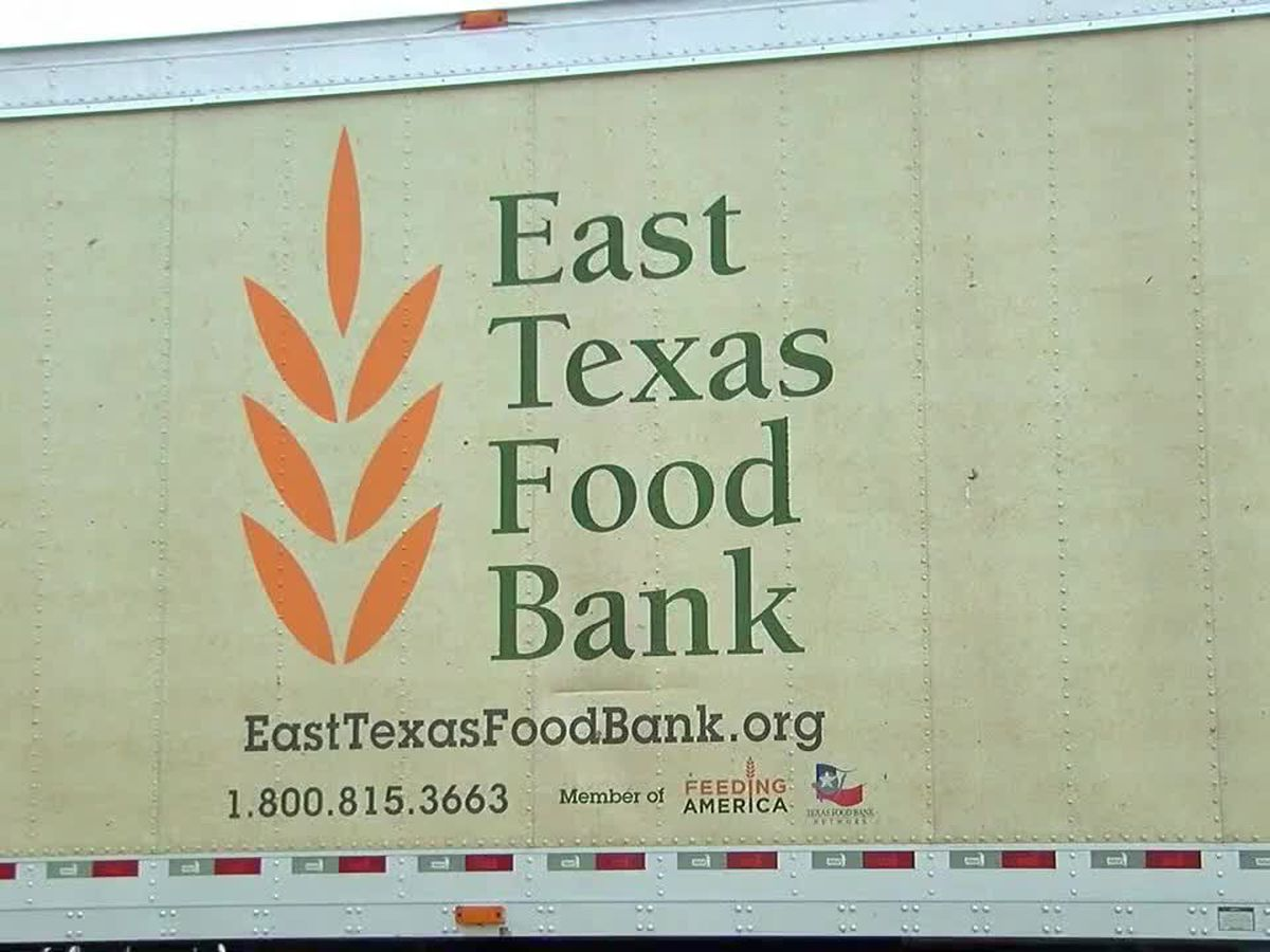 East Texas Food Bank continuing to distribute emergency food boxes