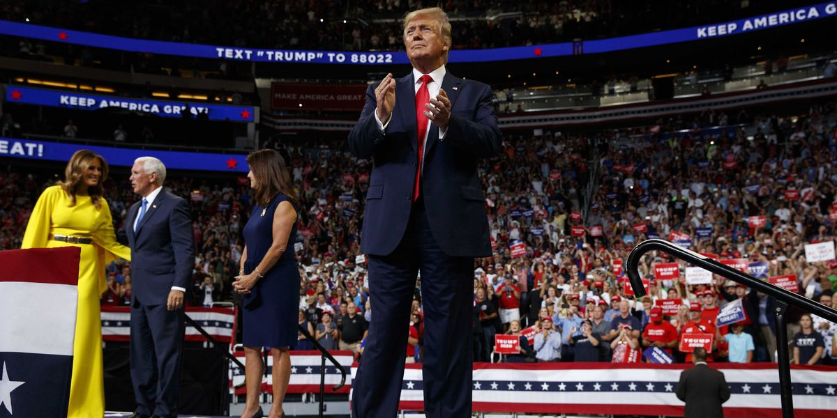 Trump kicks off 2020 campaign at Orlando rally