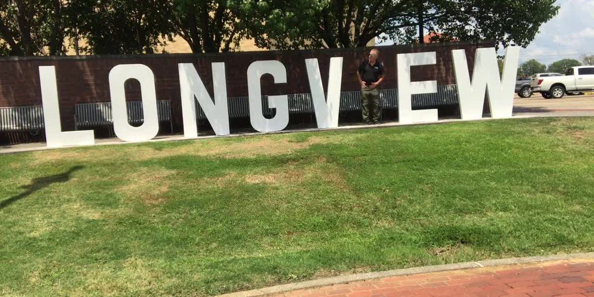 New 'LONGV EW' sign at Heritage Plaza is perfect place to strike a pose