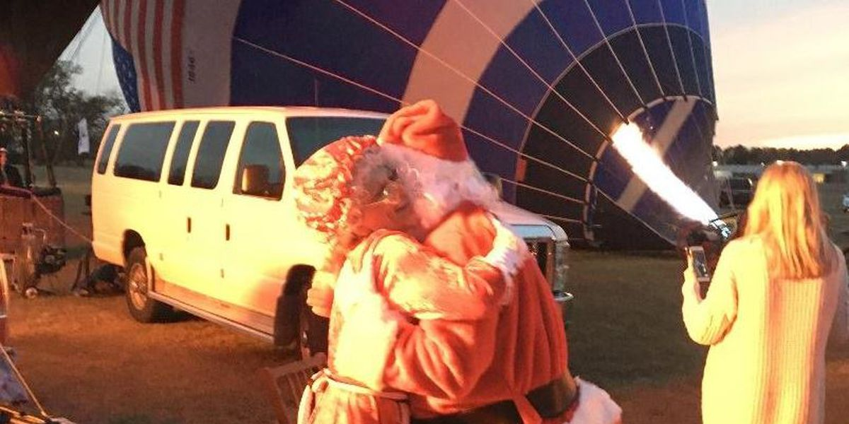 Christmas celebration in Longview to include balloon glow, Santa Claus