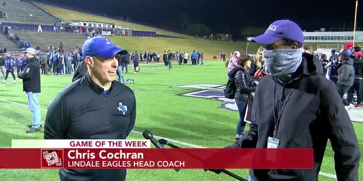 2020 Week 15 Coach Interview: Lindale Eagles Head Coach Chris Cochran