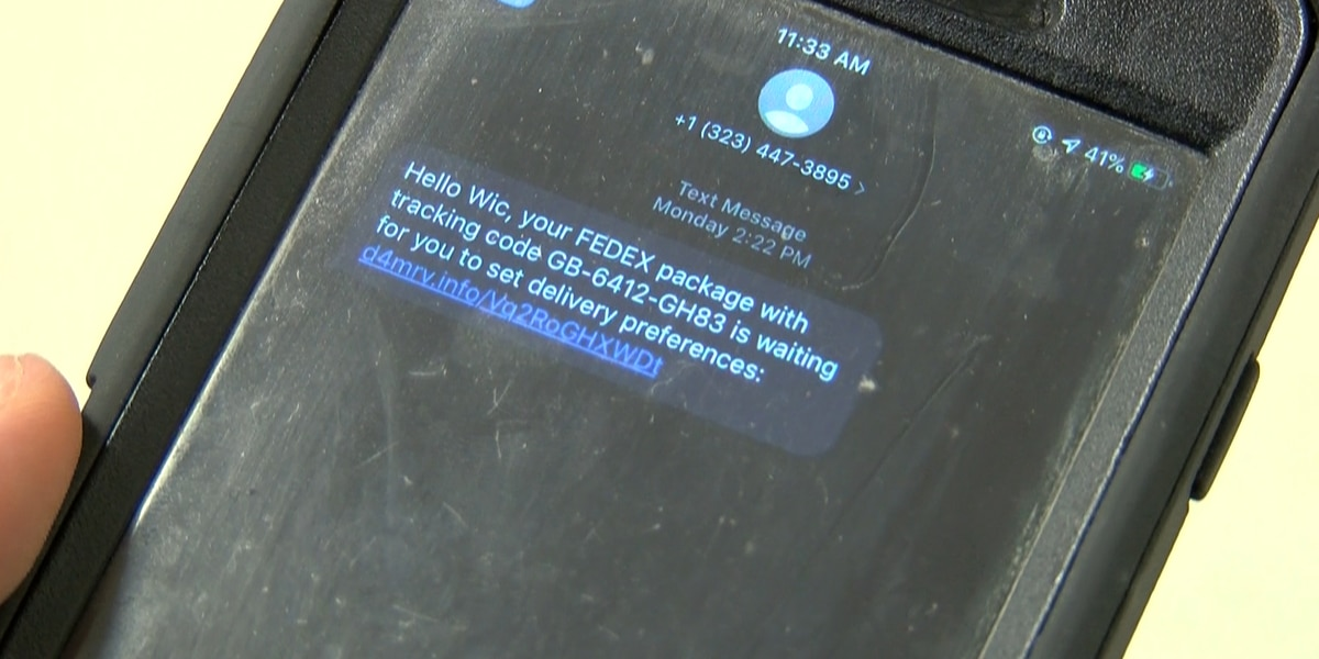 Texting scam claims to be FedEx; WF residents on alert