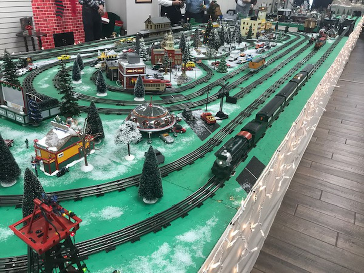 Loblolly model train pulls into Gregg County Historical Museum