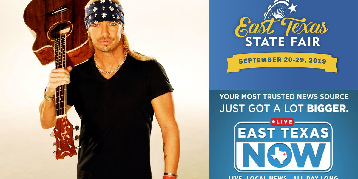 WATCH: Rock icon Bret Michaels talks about upcoming performance at East Texas State Fair