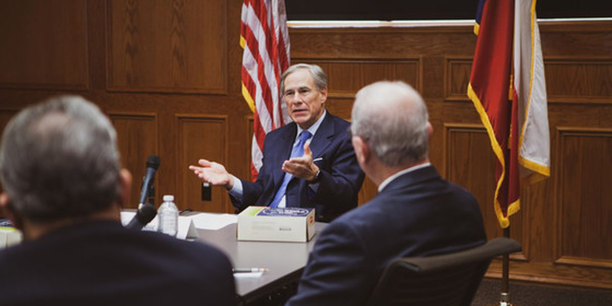 Gov. Abbott hosts roundtable discussion on law enforcement, public safety priorities