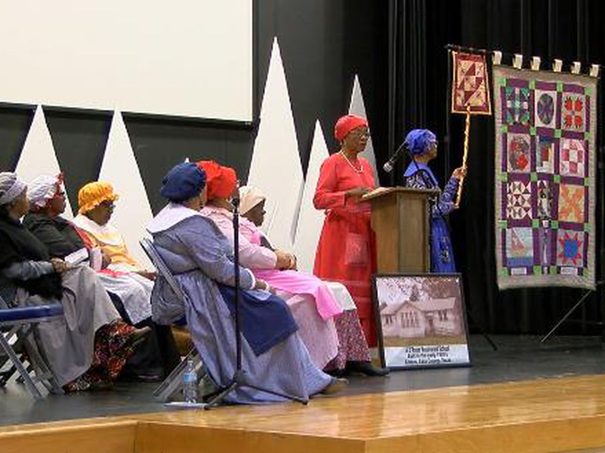 First United Methodist Church in Longview hosts Pleasant Hill Quilters Code Quilt Presentation