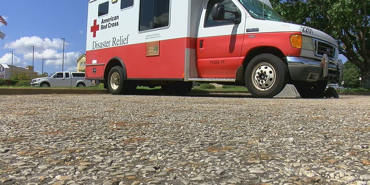 WEBXTRA: East Texas Chapter of American Red Cross prepares for possible local effects of Hurricane Laura
