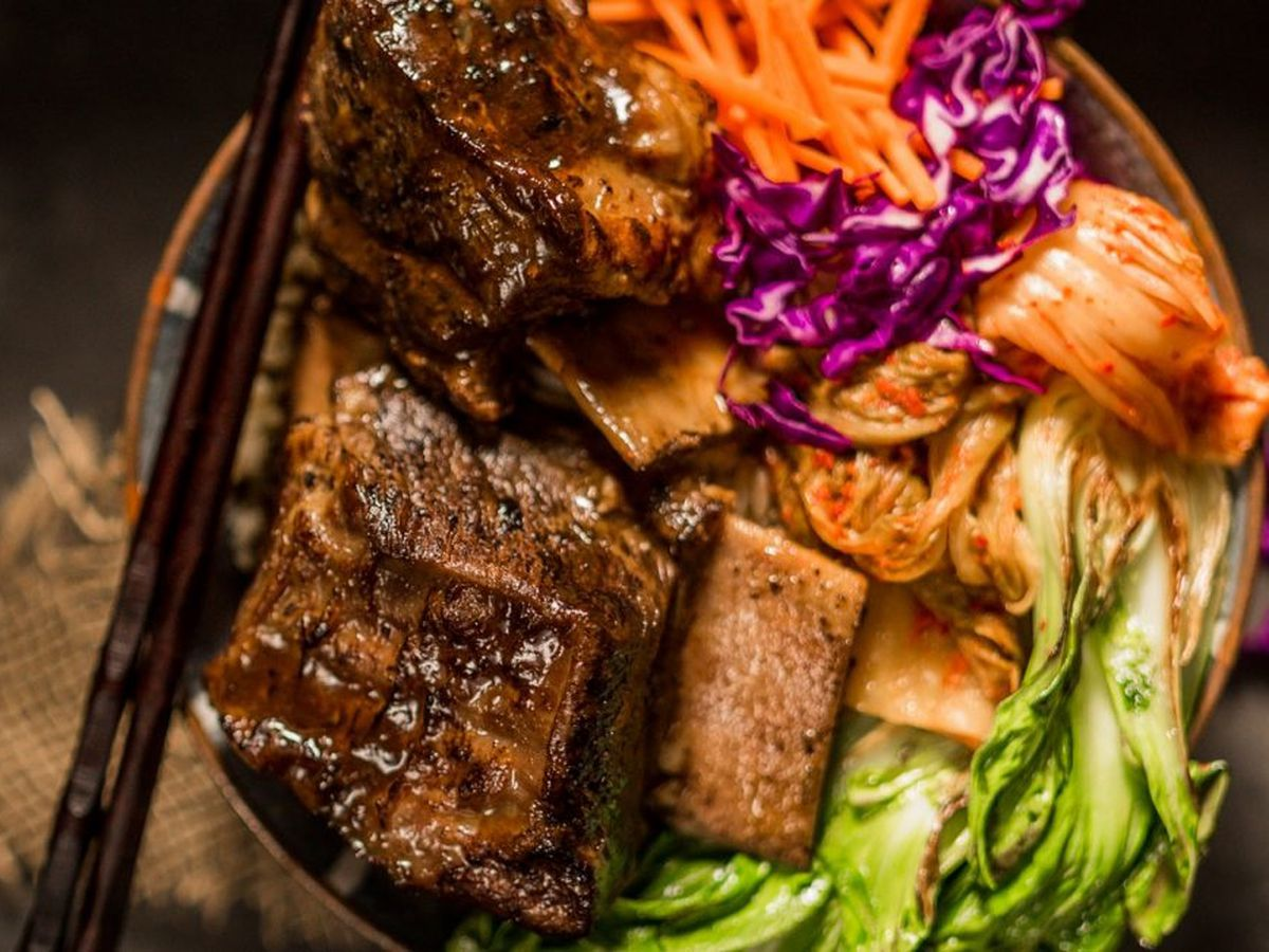 Korean braised short ribs by the Texas Beef Council's Shalene McNeill