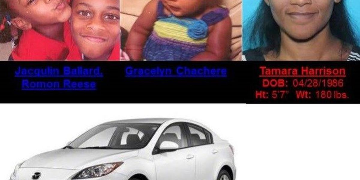 Amber Alert discontinued for 3 Texas children