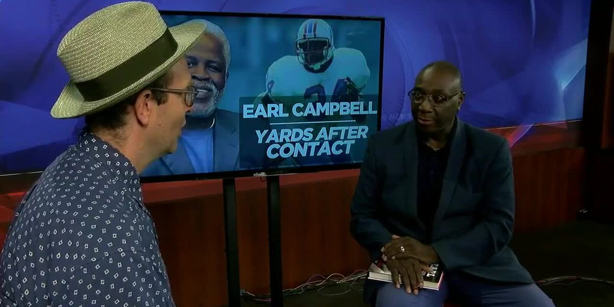 Author of Earl Campbell, Yards After Contact talks about the book
