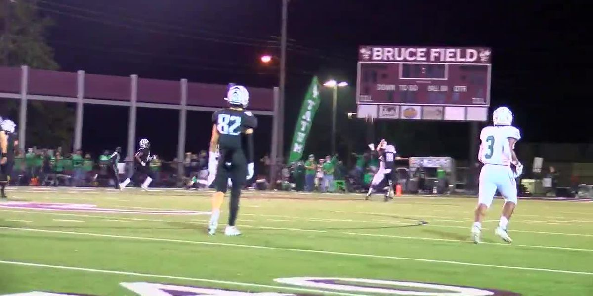 WATCH: Tatum QB with long TD pass under pressure