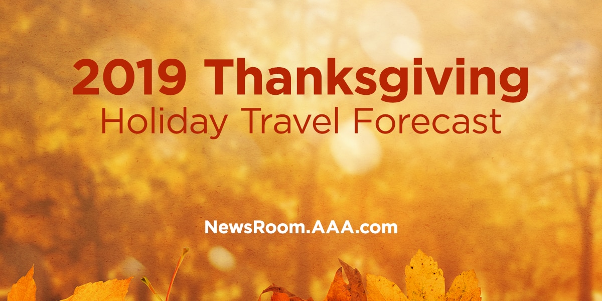 AAA - Triple-A Thanksgiving travel