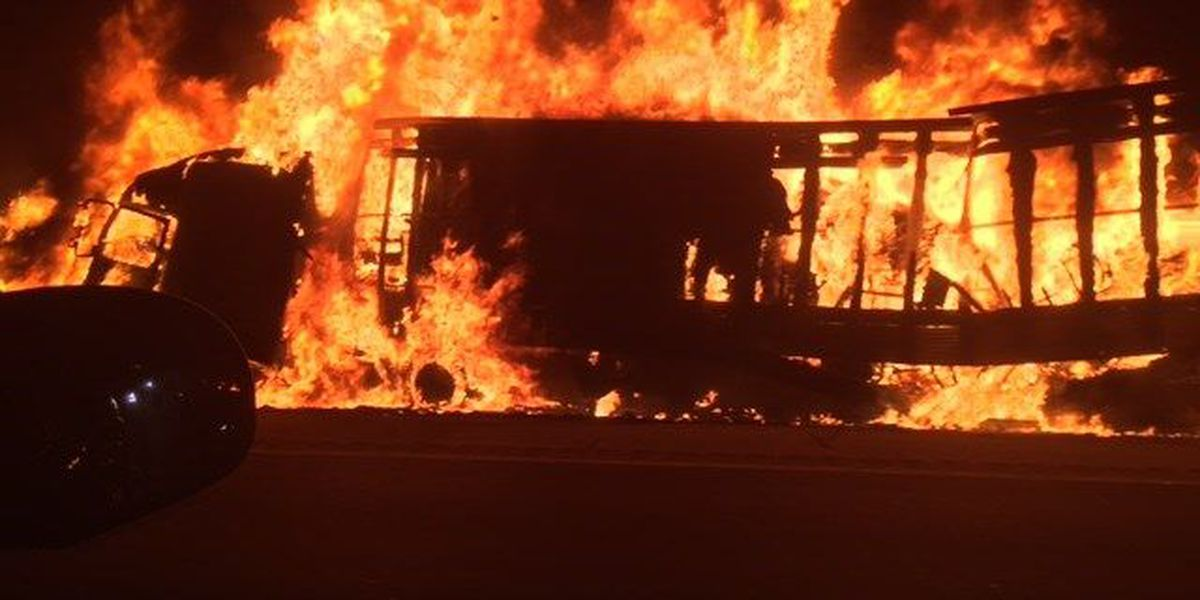 UPS confirms two employees died in fiery I-20 crash Wednesday in Smith Co.