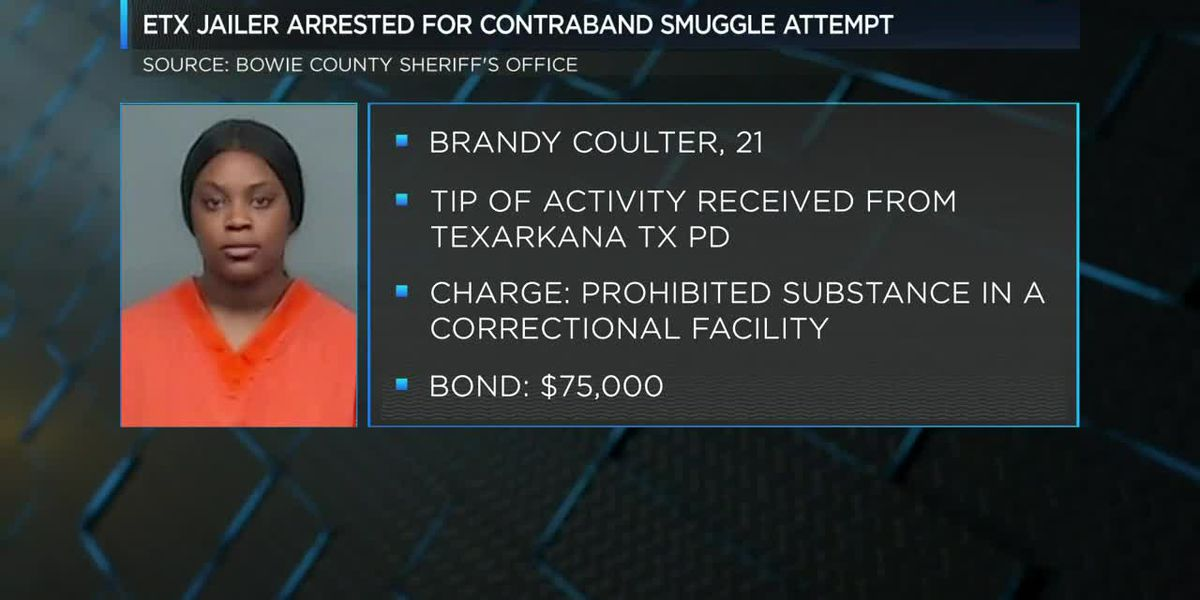 East Texas jailer arrested for contraband smuggle attempt
