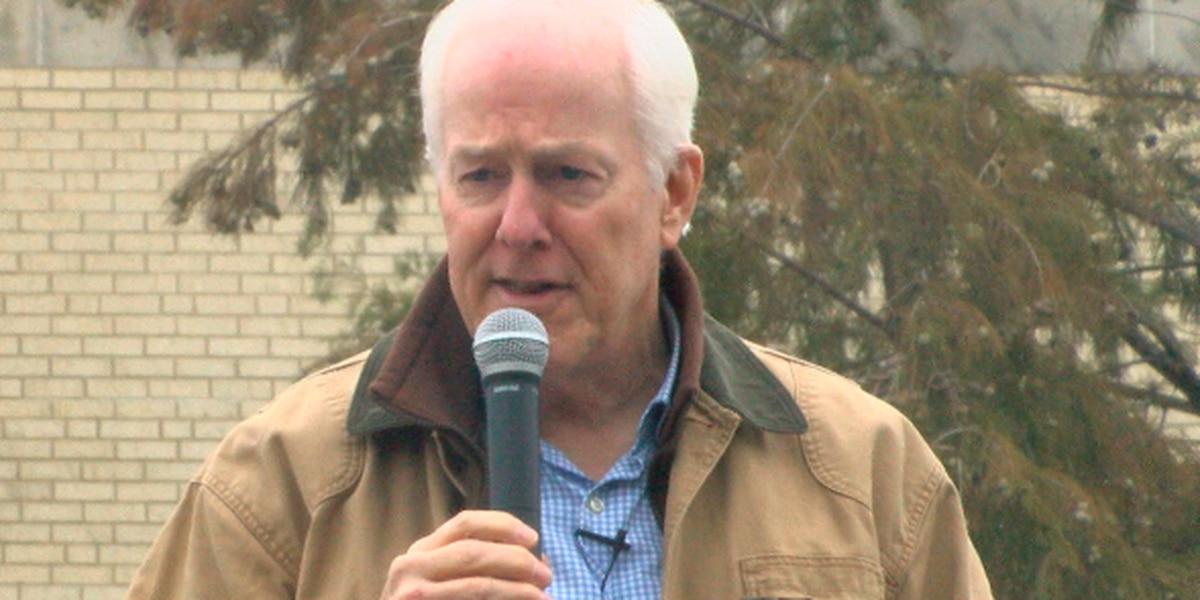 Sen. John Cornyn makes campaign stop in Tyler