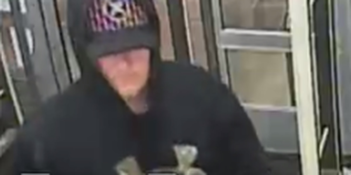Tyler police release images of pharmacy robbery suspect