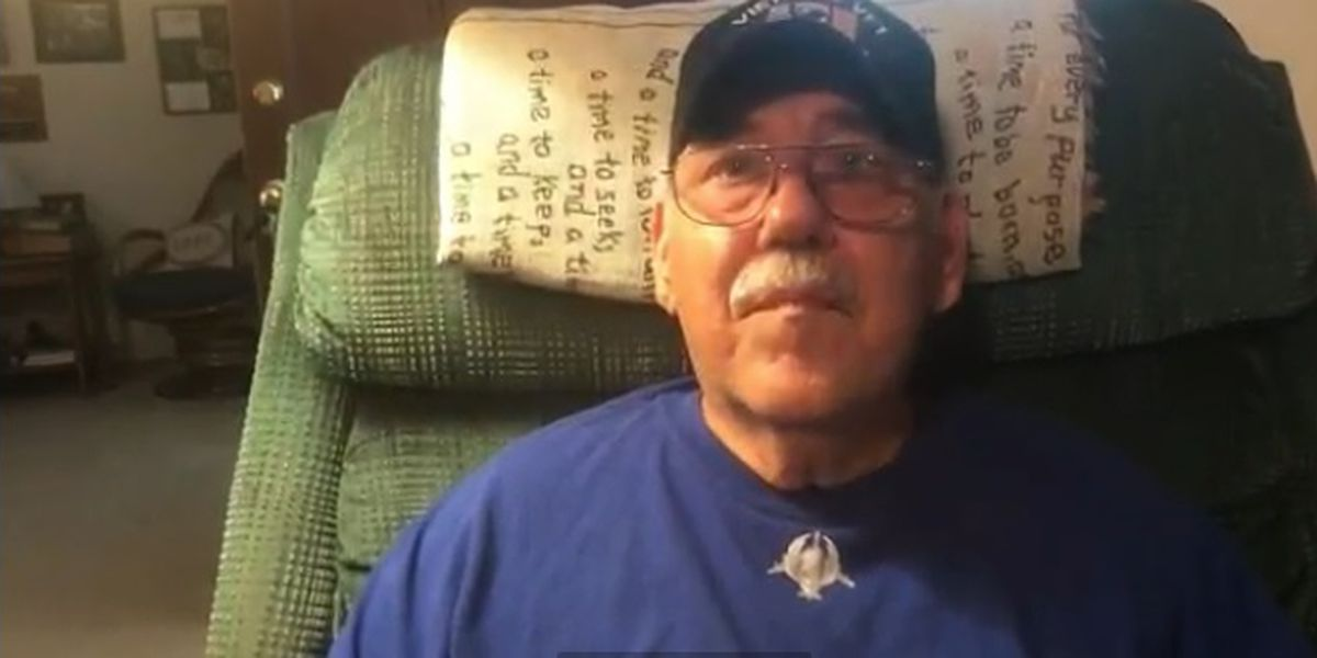 Veteran left homeless after contractor allegedly takes insurance money, leaves home gutted