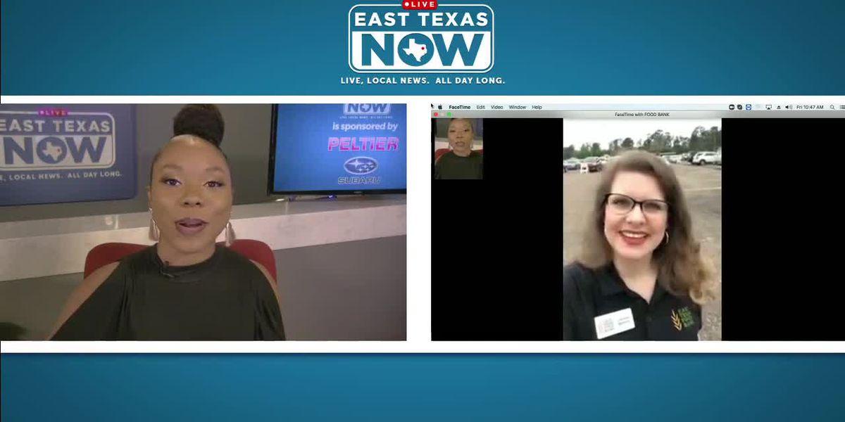 ETN Interview: East Texas Food Bank's emergency food distribution