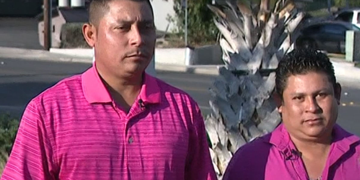 Brothers help save officer during a traffic stop in Texas
