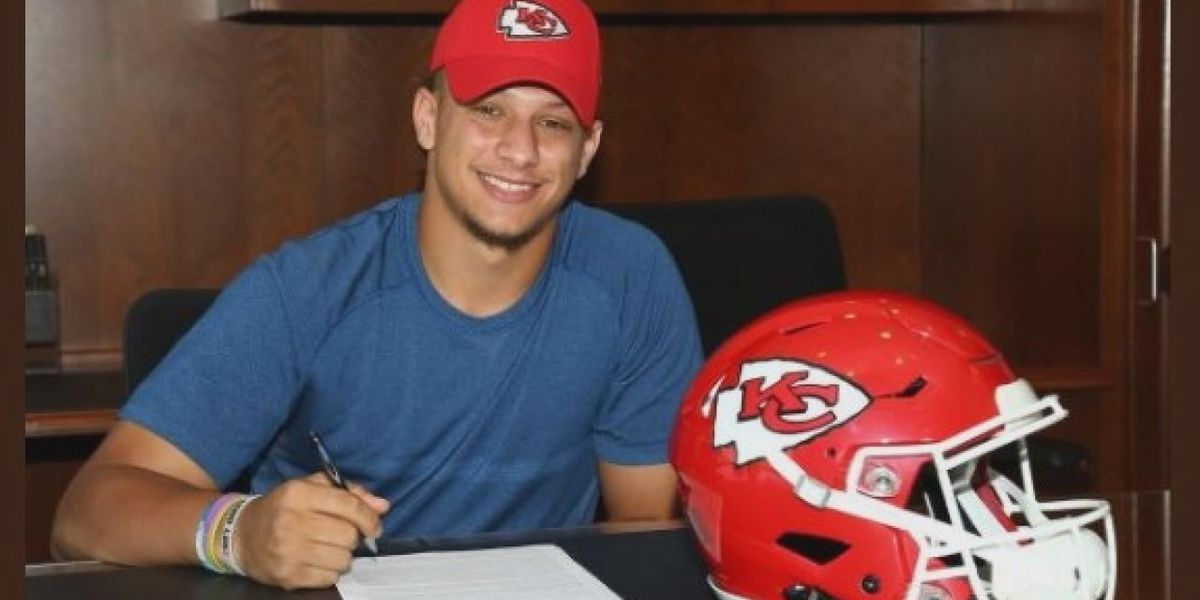 Local Fan Proud Of Mahomes