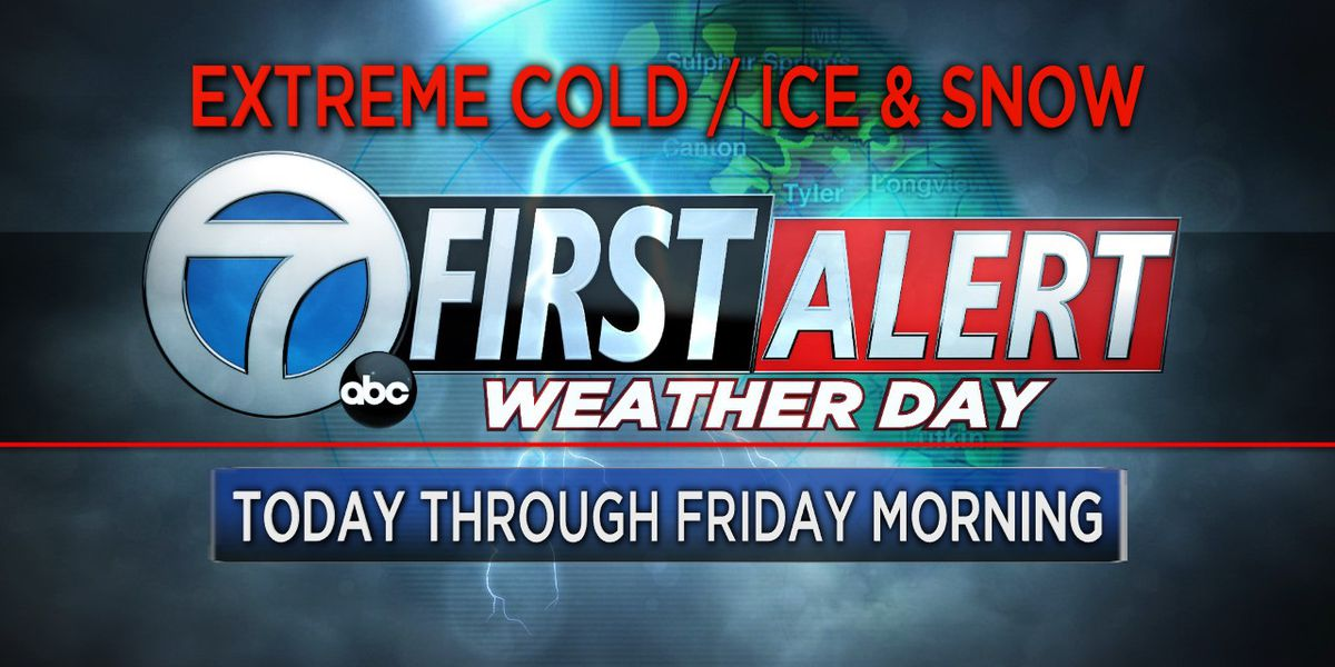 First Alert Weather Days continue through Friday morning