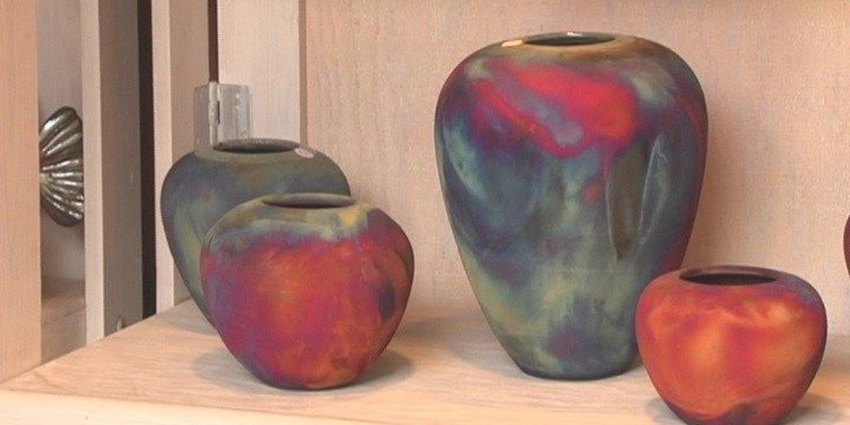 Proud of East Texas: Les Mitchell Pottery