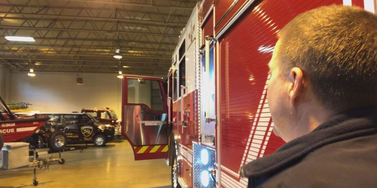 Longview unveils new fire truck designed by firefighters