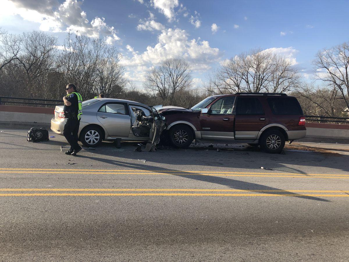 TRAFFIC ALERT: Wreck on Tyler's N. Beckham overpass causing traffic snarl