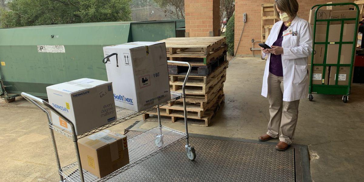 COVID-19 vaccines arrive at UT Health North Campus