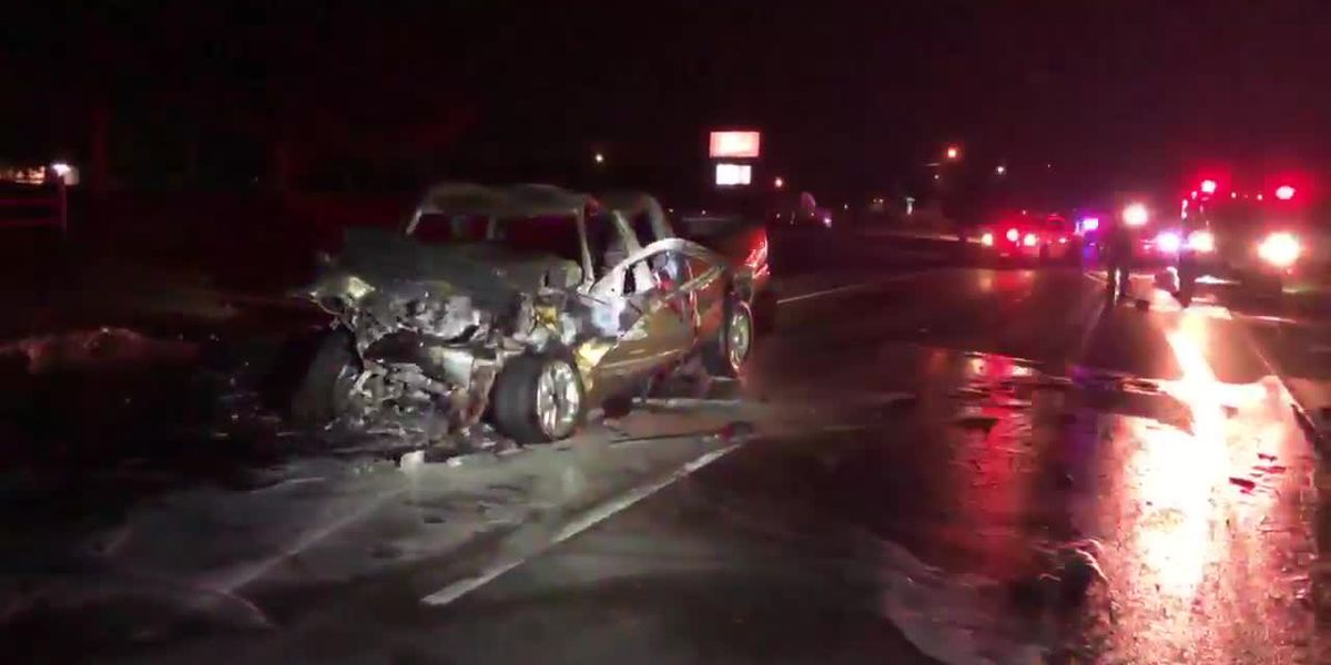 Good Samaritans rescue man from burning pickup after 2-vehicle wreck in Lufkin