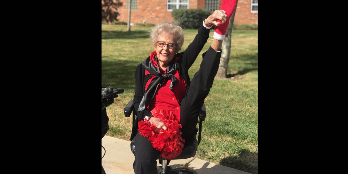 Biggest TTU fan, former cheerleader, dies at age 98