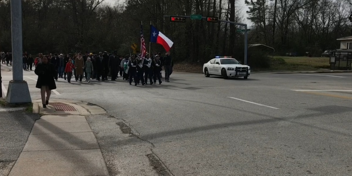 WEBXTRA: Longview community observes Martin Luther King, Jr. Day with annual march