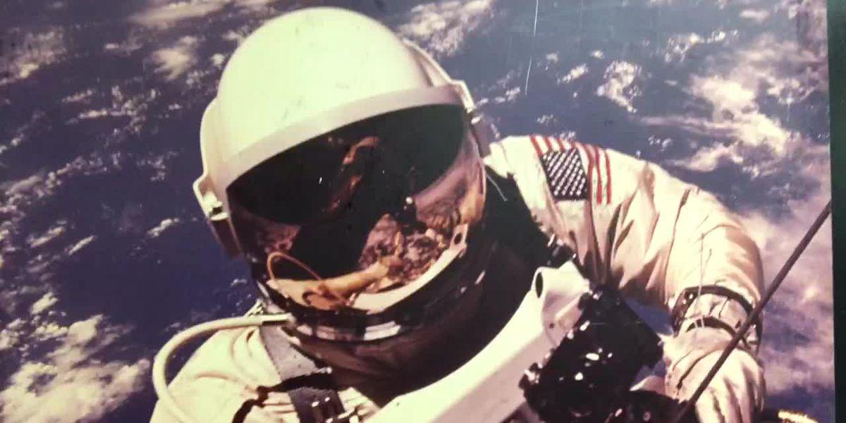 WEBXTRA: LeTourneau University hosts space exhibit celebrating Apollo moon landing