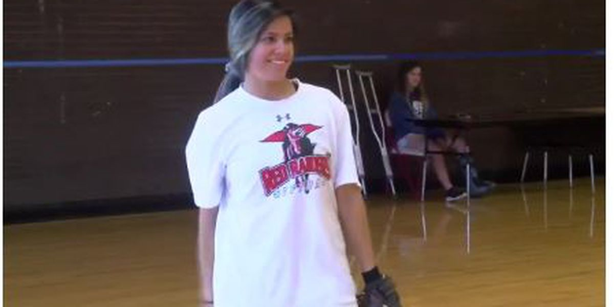 Tyler Lee softball team's lone senior took on leadership role in her last season